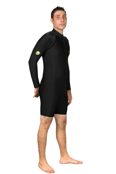 men long sleeves uv sunsuit