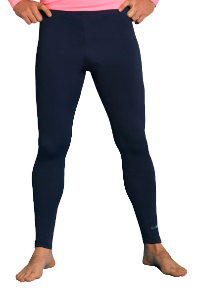 men swim leggings Navy