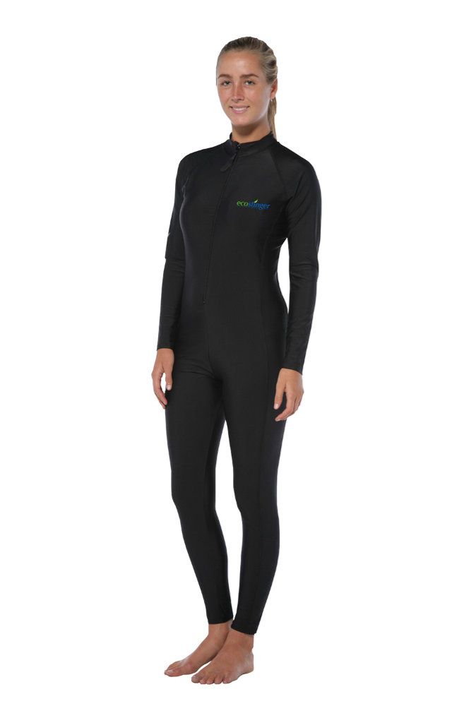 women black stinger suit dive skin sun protection